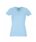 Футболка Lady-Fit V-Neck T - 61-382-0