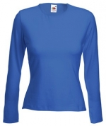 Футболка LADY-FIT LONG SLEEVE CR - 61-022-0